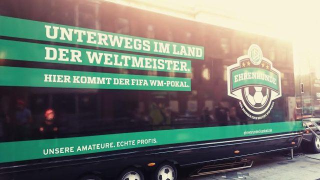 Der DFB war auch anwesend und zeigte was er so zu zeigen hatte. Spieler haben wir an dem Tag leider nicht zu Gesicht bekommen.
